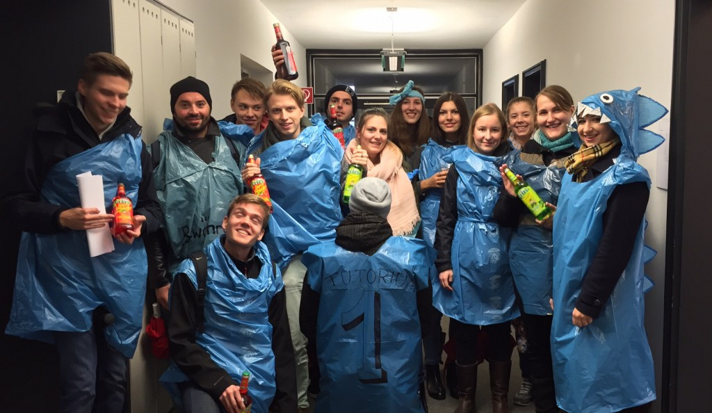 ErSie-Rallye 2015: Tutorium 1